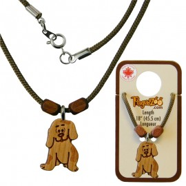 NECKLACE, DOG PENDANT