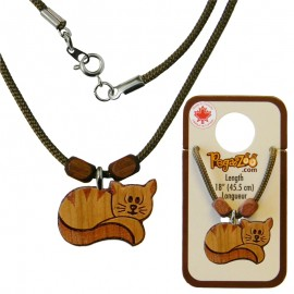 NECKLACE, CAT PENDANT