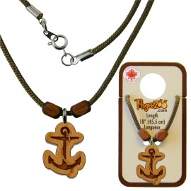 NECKLACE, ANCHOR PENDANT