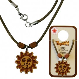NECKLACE, SUN PENDANT