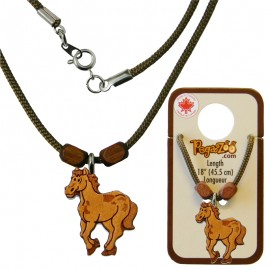 NECKLACE, HORSE PENDANT