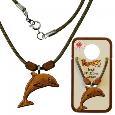 NECKLACE, DOLPHIN PENDANT