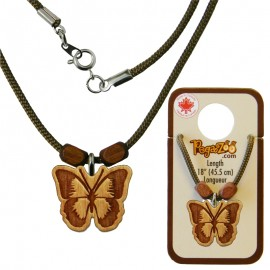 NECKLACE, BUTTERFLY PENDANT