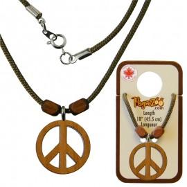 NECKLACE, PEACE PENDANT