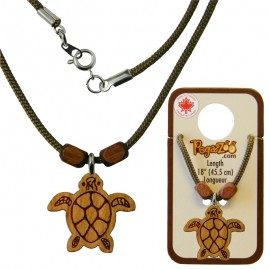 NECKLACE, TURTLE PENDANT