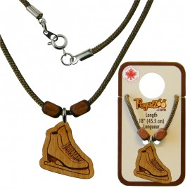 NECKLACE, SKATE PENDANT