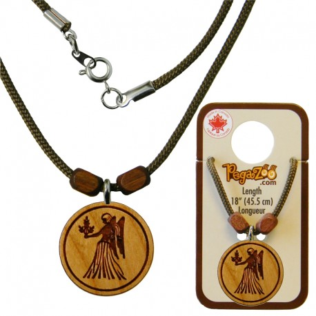 NECKLACE, VIRGO PENDANT