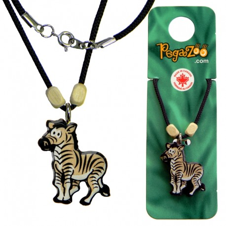 NECKLACE - ZEBRA