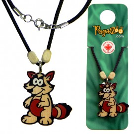 NECKLACE - RACOON