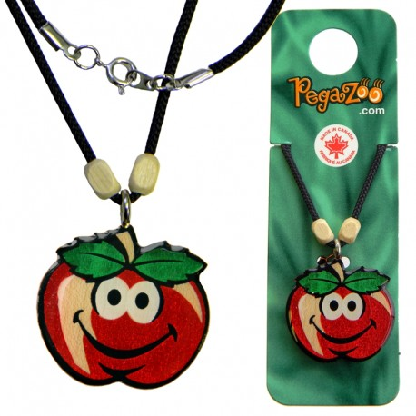 NECKLACE - SMILEY APPLE