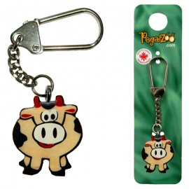 KEY CHAIN - COW