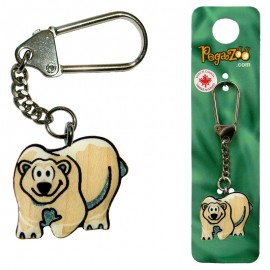 KEY CHAIN - POLAR BEAR