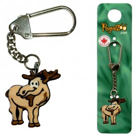 KEY CHAIN - MOOSE