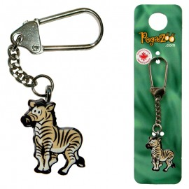 KEY CHAIN - ZEBRA