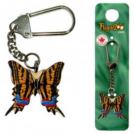 KEY CHAIN - COLORED BUTTERFLY