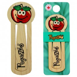 BOOKMARK - SMILEY APPLE