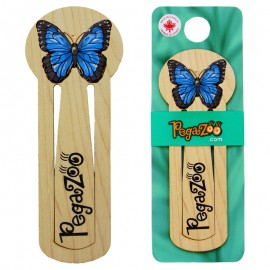 BOOKMARK - BLUE BUTTERFLY